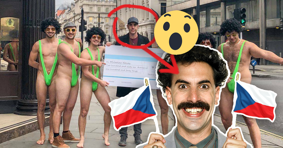 What it's like to be pranked by sacha baron cohen's borat
