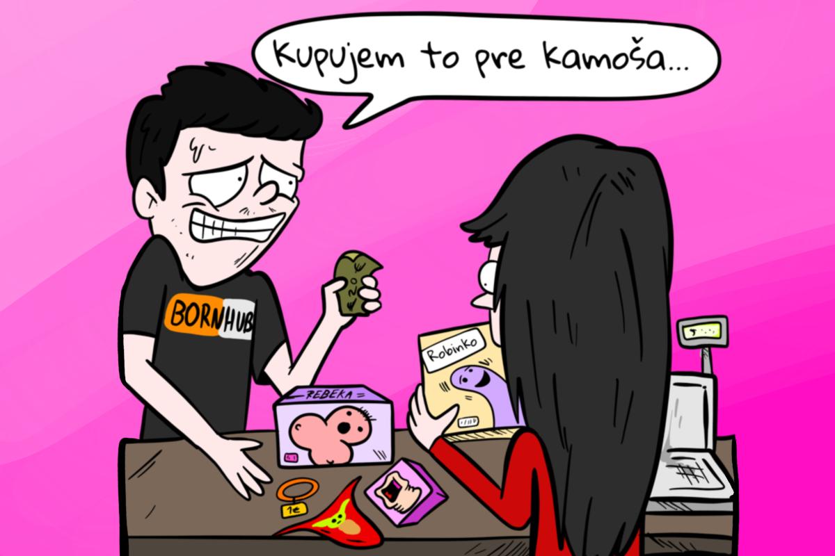 Typy ľudí, ktoré stretneš v slovenských sexshopoch