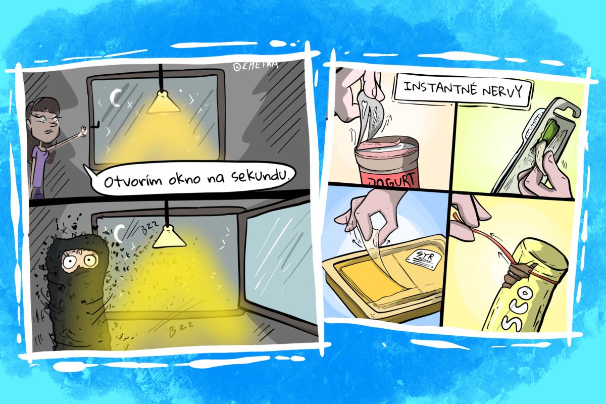 13 vtipných komiksov o situáciách zo života, ktoré všetci dobre poznáme